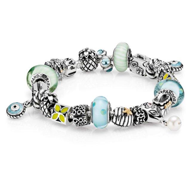 Pandora bracelet exotique