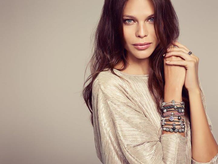 pandora bracelet cuir double