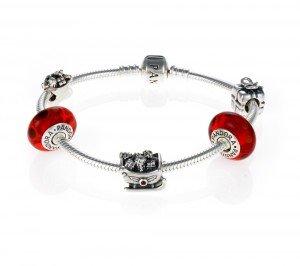 PANDORA bracelet rouge Noël